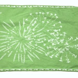 Yves Delorme Paris Luxury Linens Burp Cloth Napkin